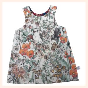 Australiana Fairytale pinafore dress