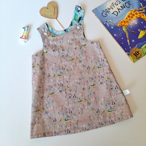 charity print floral dress