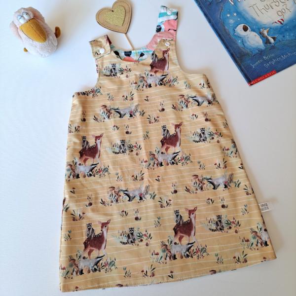 deer and woodland dress