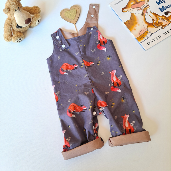 Overalls fox and the fireflies