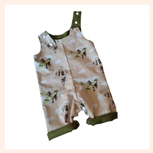 chocks away rabbits overalls
