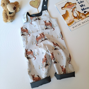 australian animals echidna overalls