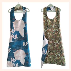 ladies reversible apron